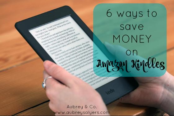 6 Ways to Save on Amazon Kindles