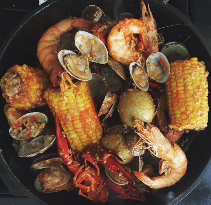 Seafood Combo At Home