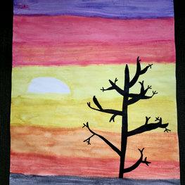 Beautiful Sunset by Quinn H.