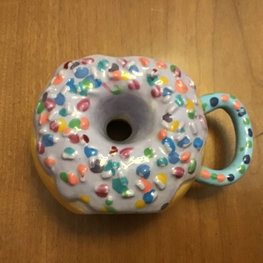 Donut Sculpture by Kyla K.