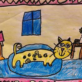 I Love Cats by Gavin R.