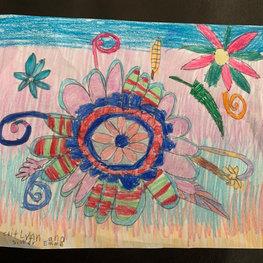 One Flower by Caitlynn P.