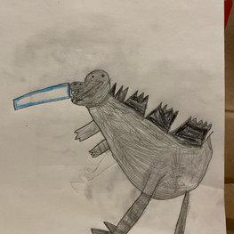 My Godzilla by Gavin R.