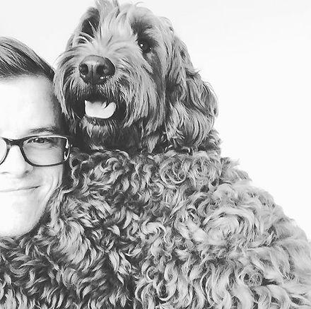 Mr Rupert!! 🤗🐕#gorgeous #labradoodle #babyboy #cuddlemonster #100%scissorgroom _ilps_grooming