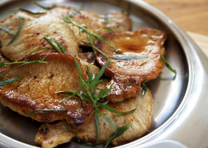 Pork escalopes