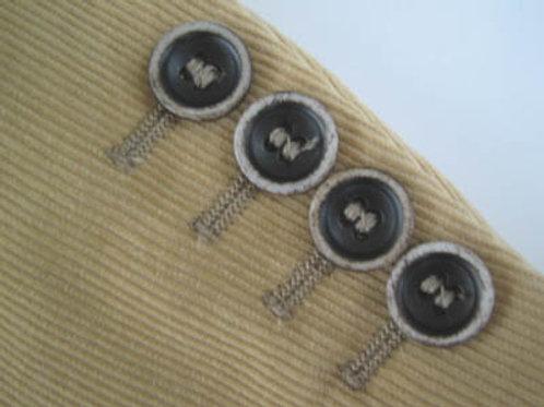 ジャケット 袖丈詰め(本セッパ加工含む)