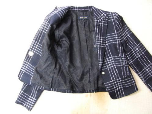 ジャケットに裏地付け