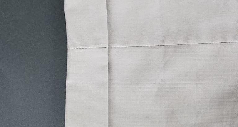 ダブル裾のパンツの丈詰めについて