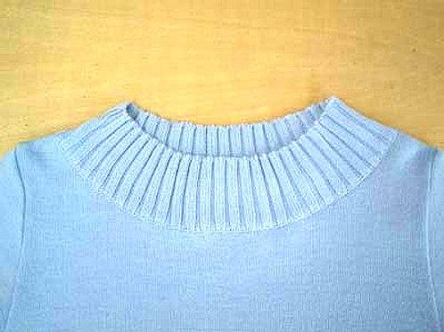 衿の高さカットとデザイン変更(作業後)