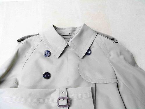 コート ラグラン袖の肩線つめ(肩幅詰め)