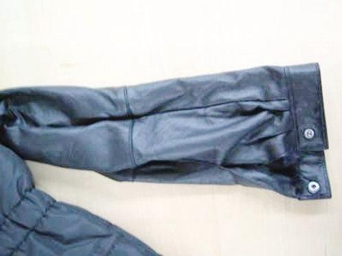 ジャケット レザー 袖丈詰め(カフス付き)