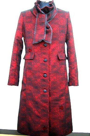 輪奈コートから洋装コートにリメイク(下部)