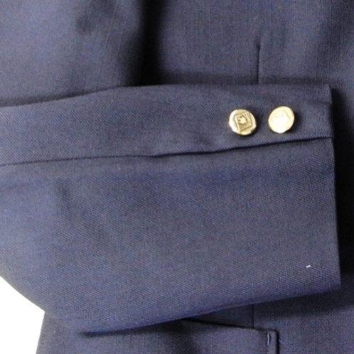 制服ジャケット袖丈詰め 袖口