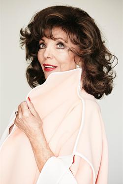 Joan Collins - ©Peter Brew-Bevan/AWW