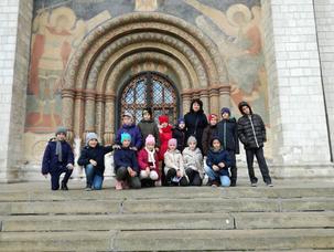 18 октября 2 «ж» класс инженерного корпуса провел урок по Музейной педагогике в Московском Кремле.