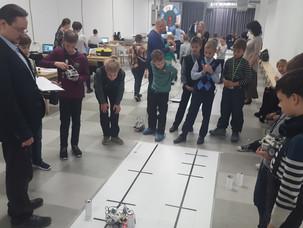 Отбор на олимпиаду ЦПМ по робототехнике