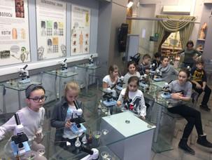 4Н класс в Государственном Биологическом музее имени К. А. Тимирязева