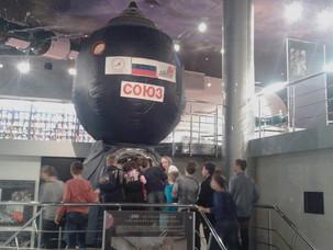 5 классы в музее Космонавтики