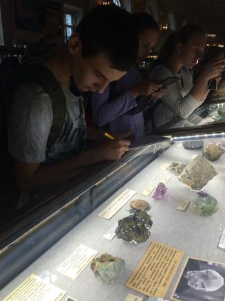 Экскурсия в Минералогический музей