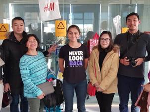 Делегация из Таиланда в Инженерном корпусе