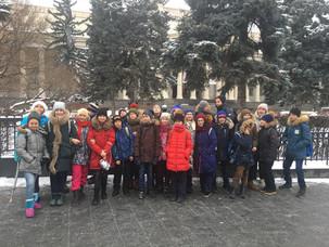 5 о класс в Государственном музее изобразительных искусств имени А.С. Пушкина