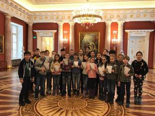 """4Н класс на интерактивной программе """"Тайна новогоднего ларца"""" в Царицыно"""