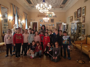 Посещение музея Пушкина
