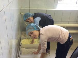 """Экскурсия 3Н класса в пекарню """"Хлебные традиции"""""""