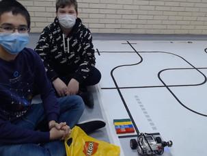 Победители осенне-зимнего этапа Олимпиады ЦПМ по робототехнике