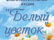 Участие в благотворительной акции «Белый цветок»