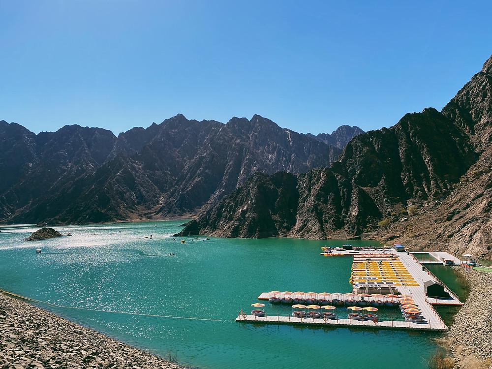 water sports in Hatta, Hatta Wadi Dam, Water activities in Hatta