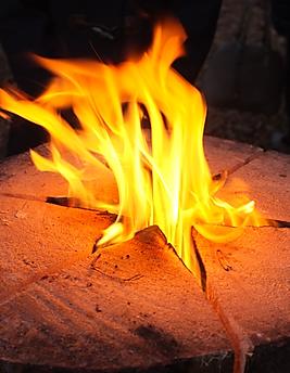 bonfire camping