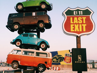 Last Exit. The best outdoor food trucks