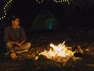 Camping in Hatta