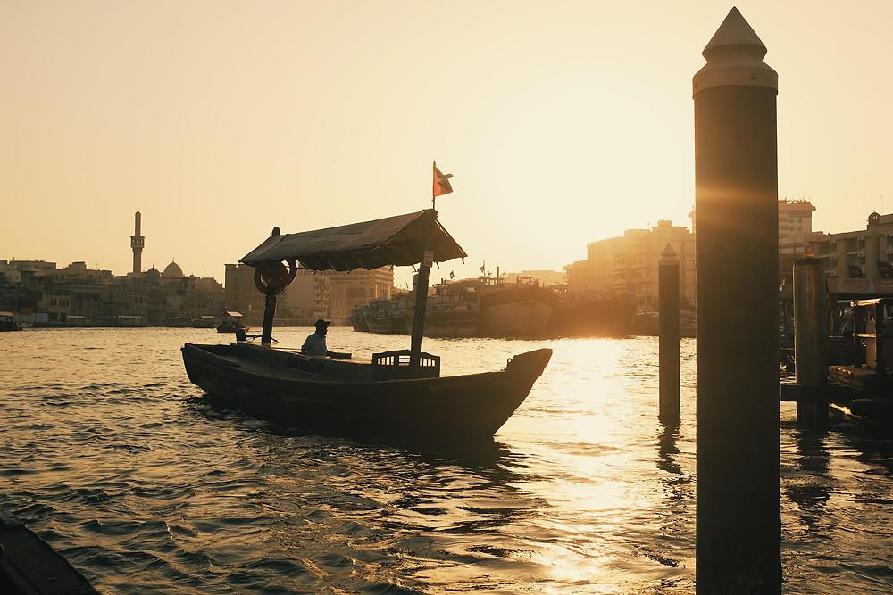 Abra boat
