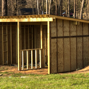 Run in shelter and Fencing almost finished!! We made the Rocky Mount Telegram!! THANK YOU Ag Carolin
