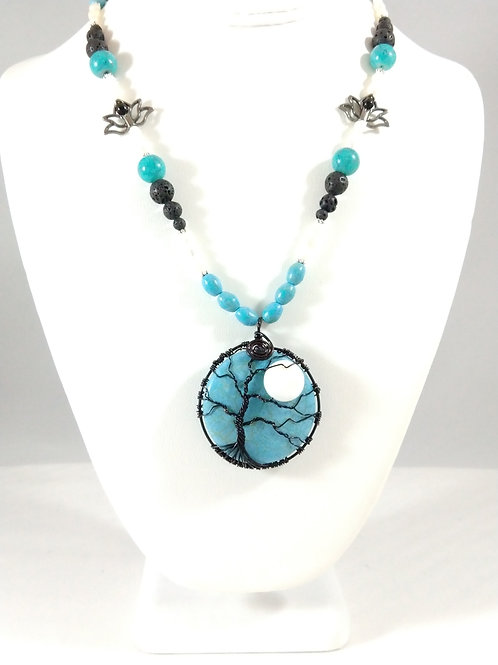 Turquoise and lotus