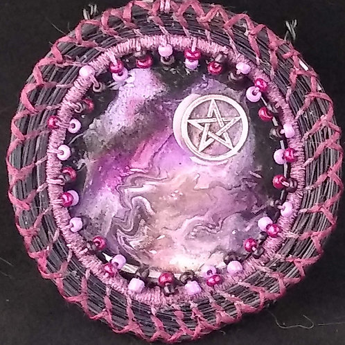 Pink and Purple Pentacle