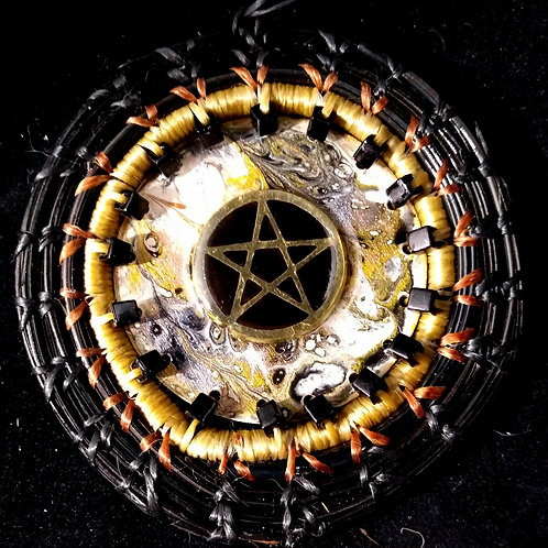 Black and Gold Pentacle