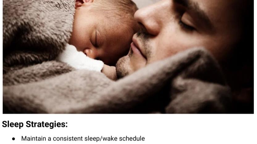 Effective Sleep Strategies Handout