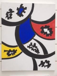 Primary, Schilderij (3)