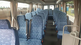 23 seater mini coach
