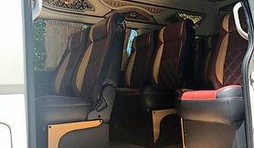 Maxicab Hiace Vip Interior