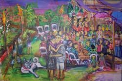 Polynesian Anniversary Party