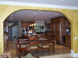 Tuscan Faux Finish Dining Room