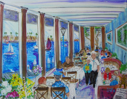 I was delighted to paint a 20th wedding anniversary party For the Sullivans held in the lovely Khour