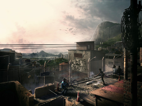 Matte Painting Breakdown - Top 7, D2 Challange with Matte Paint and Ander Alencar - Digital Favelas