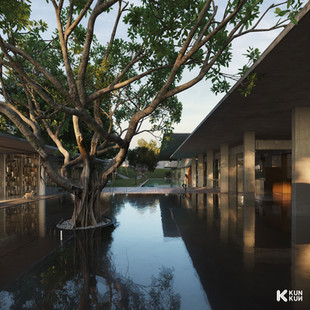 Pool Area at IH Residences - Indonesia / Andra Matin