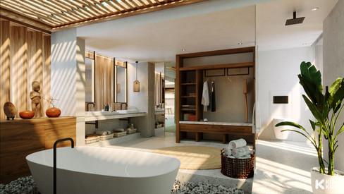 CAP Karoso Duplex Bathroom - Indonesia / The Frenchman