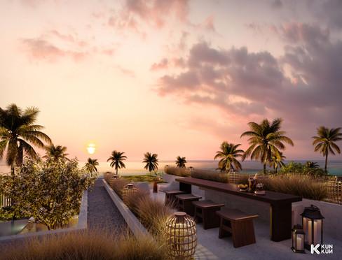 Cap Karoso Sunset Deck - Indonesia / The Frenchman